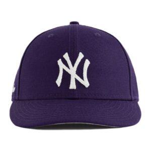 Aime Leon Dore x New Era Chain Stitch Yankees Hat Purple