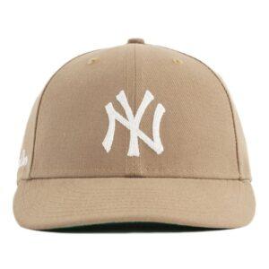 Aime Leon Dore x New Era Chain Stitch Yankees Hat Tan