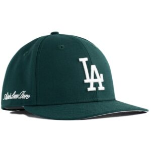 Aime Leon Dore x New Era Dodgers Hat Dark Green 1