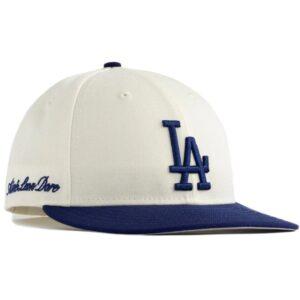 Aime Leon Dore x New Era Dodgers Hat IvoryBlue 1