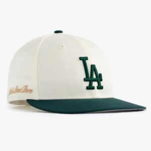 Aime Leon Dore x New Era Dodgers Hat IvoryDark Green 1
