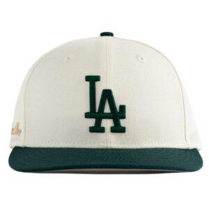 Aime Leon Dore x New Era Dodgers Hat IvoryDark Green