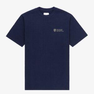 Aime Leon Dore x Porsche 911SC Grille Badge T shirt Navy 1
