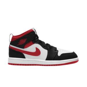 Air Jordan 1 Mid PS Black Gym Red