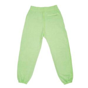 Awake Embroidered Logo Sweatpants Light Green 1