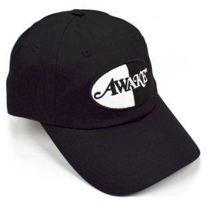 Awake Logo Patch Hat Black 1