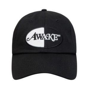 Awake Logo Patch Hat Black