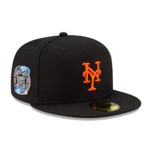 Awake Subway Series New York Mets New Era Fitted Cap Black 1