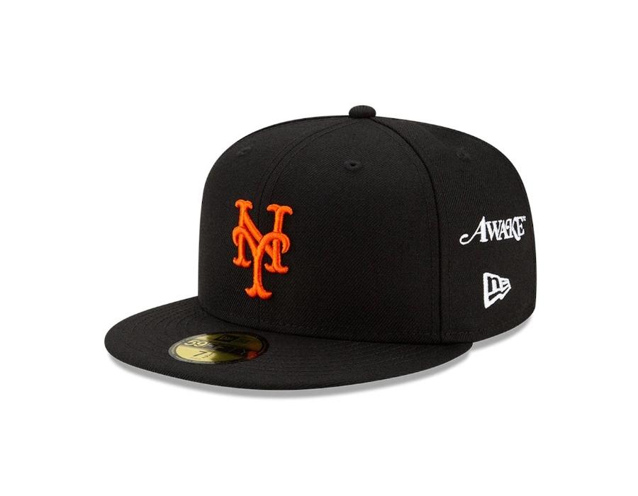 Awake Subway Series New York Mets New Era Fitted Cap Black 2