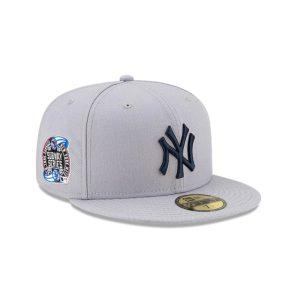 Awake Subway Series New York Yankees New Era Fitted Cap Gray 1
