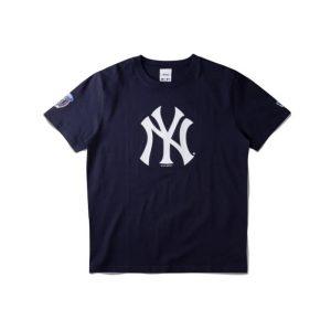 Awake Subway Series Yankees T shirt Navy 1.2