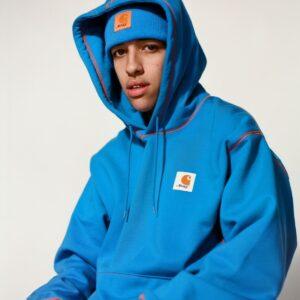 Awake x Carhartt WIP Classic Sweatshirt Blue 2