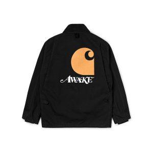 Awake x Carhartt WIP Michigan Chore Coat Black 1