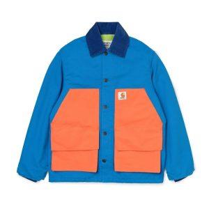 Awake x Carhartt WIP Michigan Chore Coat Blue