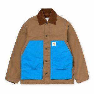 Awake x Carhartt WIP Michigan Chore Coat Brown