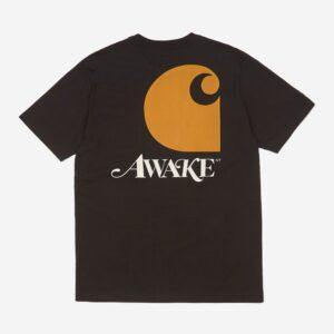Awake x Carhartt WIP T Shirt Black 1
