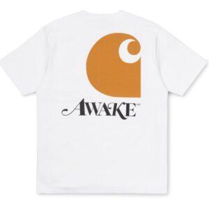 Awake x Carhartt WIP T Shirt White 1