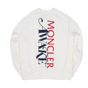 Awake x Moncler Crewneck Ivory 1
