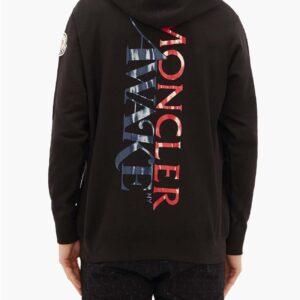 Awake x Moncler Maglia Hoodie Black 1.2