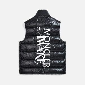 Awake x Moncler Parker Gilet Puffer Vest Black 1