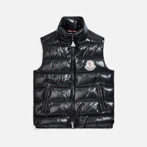 Awake x Moncler Parker Gilet Puffer Vest Black