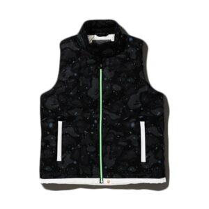 BAPE Space Camo Down Vest Black 1