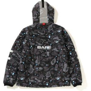 BAPE Space Camo Hoodie Jacket Black 1