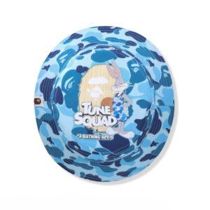 BAPE x Space Jam ABC Camo Bucket Hat Blue 1