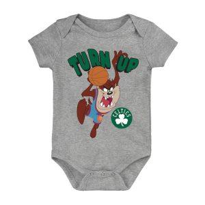 Boston Celtics Turn Up Taz Bodysuit Newborn