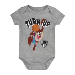 Brooklyn Nets Turn Up Taz Bodysuit Infant