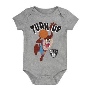 Brooklyn Nets Turn Up Taz Bodysuit Newborn