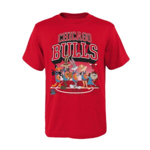 Chicago Bulls Tunes On Court T Shirt Youth