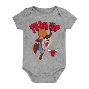 Chicago Bulls Turn Up Taz Bodysuit Infant