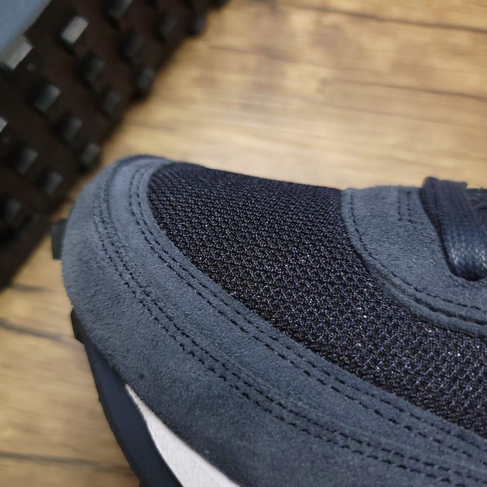 Fragment Design x sacai x Nike LDV Waffle Blackened Blue 10