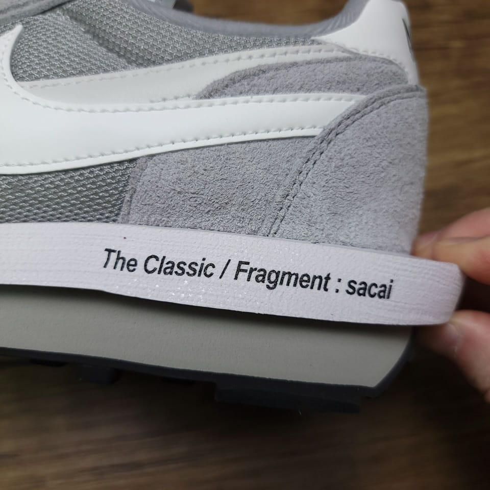 Fragment Design x sacai x Nike LDV Waffle Light Smoke Grey 7
