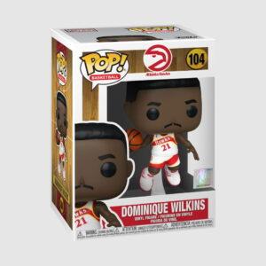 Funko Dominique Wilkins Atlanta Hawks Hardwood Classics Throwback NBA Legends Pop Vinyl 1