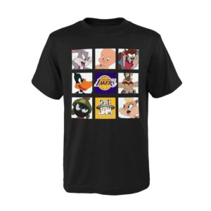 Los Angeles Lakers Tune Zoom T Shirt Youth