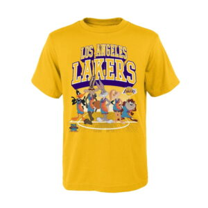 Los Angeles Lakers Tunes On Court T Shirt Youth