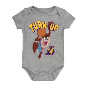 Los Angeles Lakers Turn Up Taz Bodysuit Infant