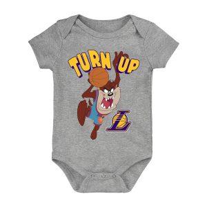 Los Angeles Lakers Turn Up Taz Bodysuit Newborn