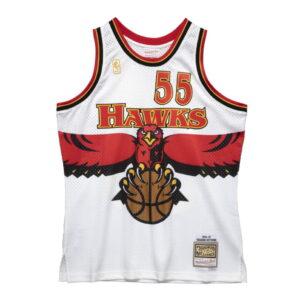 Mitchell Ness Dikembe Mutombo Atlanta Hawks Hardwood Classics Throwback NBA Swingman Jersey