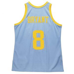 Mitchell Ness Kobe Bryant MPLS Lakers Hardwood Classics Throwback 2001 02 NBA Authentic Jersey 1