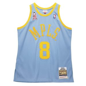 Mitchell Ness Kobe Bryant MPLS Lakers Hardwood Classics Throwback 2001 02 NBA Authentic Jersey