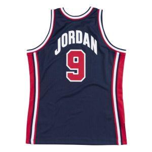 Mitchell Ness Michael Jordan 1992 Olympics Dream Team USA Hardwood Classics Throwback Authentic Jersey Navy 1