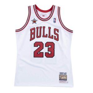 Mitchell Ness Michael Jordan 1998 All Star Game Hardwood Classics Throwback NBA Authentic Jersey
