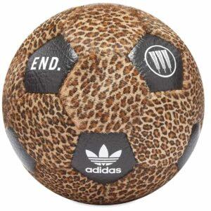 Neighborhood x END x adidas Away Soccer Ball Leopard