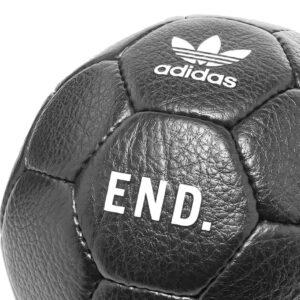 Neighborhood x END x adidas Home Soccer Ball Black 1