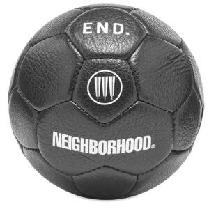 Neighborhood x END x adidas Home Soccer Ball Black