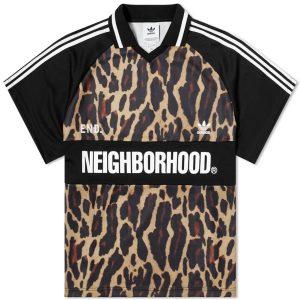 Neighborhood x END x adidas Oversize Jersey Leopard