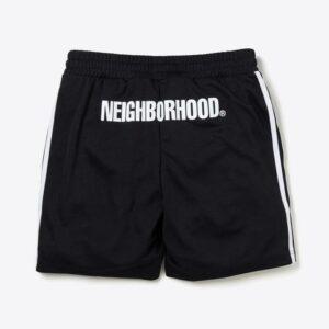 Neighborhood x END x adidas Team Shorts Black 1